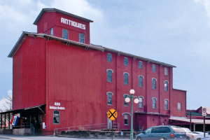 Roller Mills Marketplace building